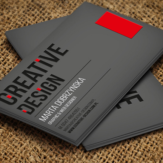 Business Card Identity Design